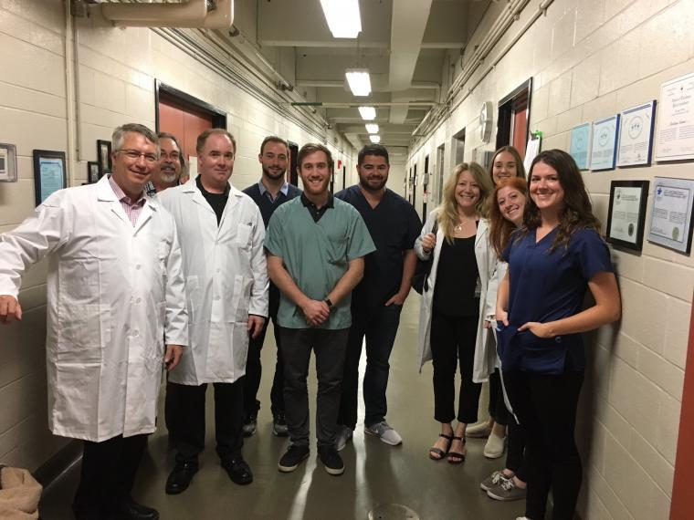 A photo of Researchers at the Centre for Cardiovascular Investigations