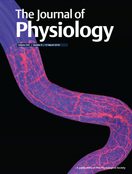 An image of an issue of the Journal of Physiology