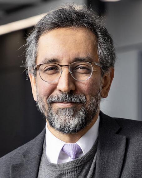 A photograph of Dr. Mazyar Fallah.