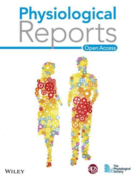 An image of the cover of the journal Physiological Reports