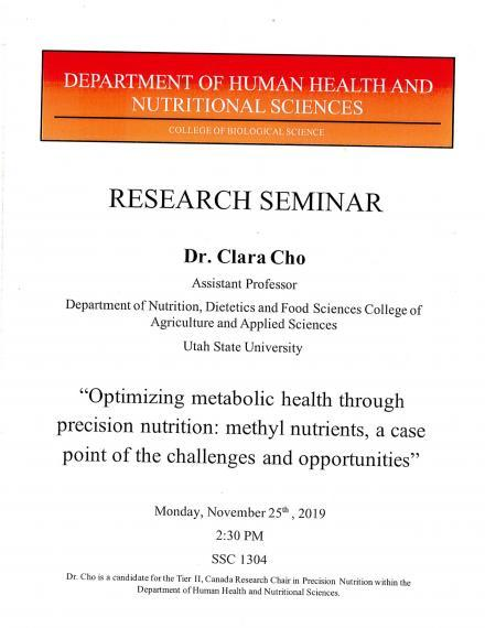 Cho Research Seminar Poster