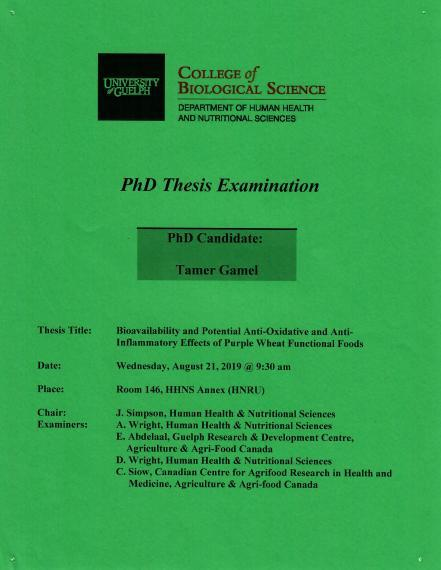 Phd thesis examination