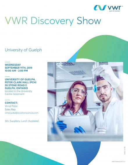 """Poster: """"VWR Discovery Guelph 2019"""""""