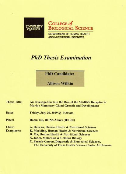 Phd thesis biology