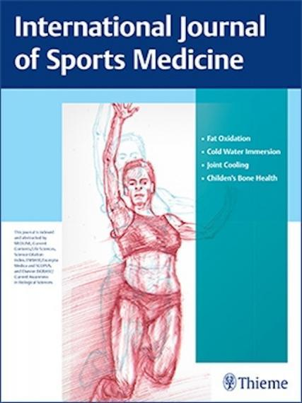 An image of the cover of the International Journal of Sports Medicine
