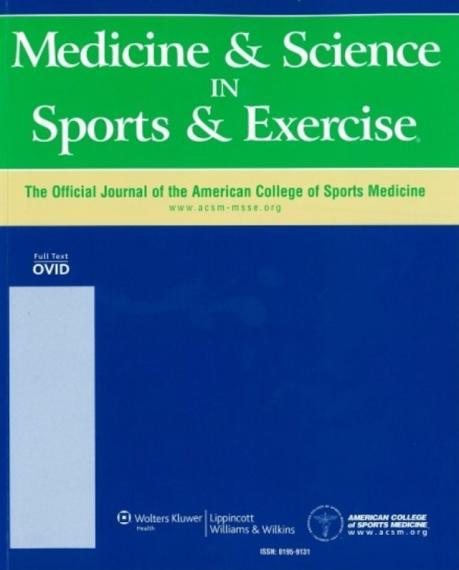 An Image of the cover of The Journal Medicine & Science in Sports & Exercise