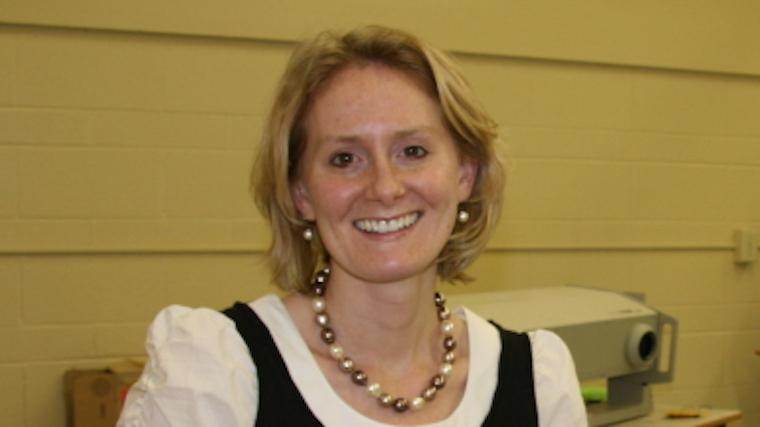 A photograph of Dr. Lori Vallis