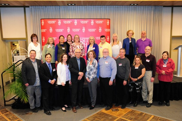 Image of Faculty and Staff who are being recognized for 25 years of service in 2019