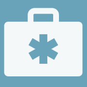 First aid kit icon to represent CCOHS