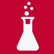 Chemical beaker icon to represent the EHS Chemical Inventory System