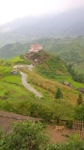 Sapa village of Cat Cat - view