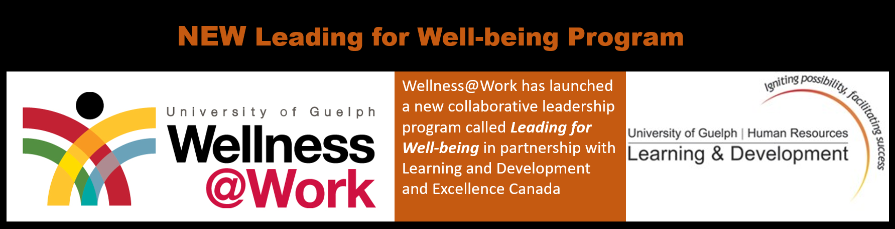 Wellness@Work and Learning and Development Logos