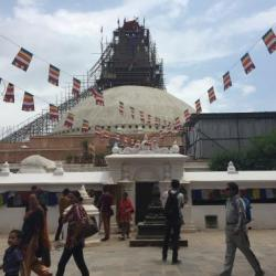 UNESCO World Heritage Site Bouddhanath Stuppa