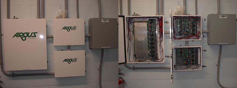 Room 161 Argus control panels