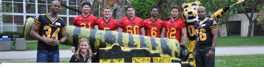 Tiger-Cats on Campus