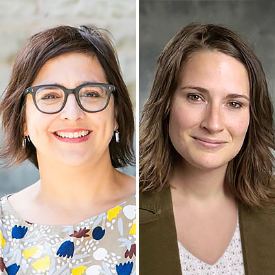 Tara Abraham and Sofie Lachapelle