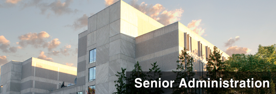 Senior Administration - University of Guelph