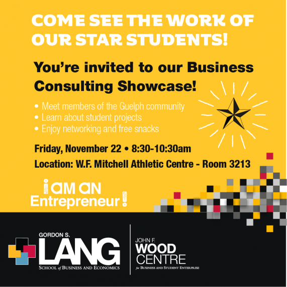 Business Consulting Showcase Event - November 22nd