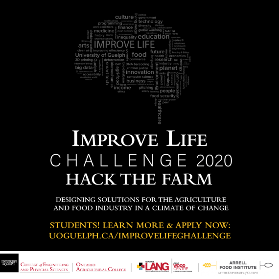 Improve Life Challenge 2020 Poster of information