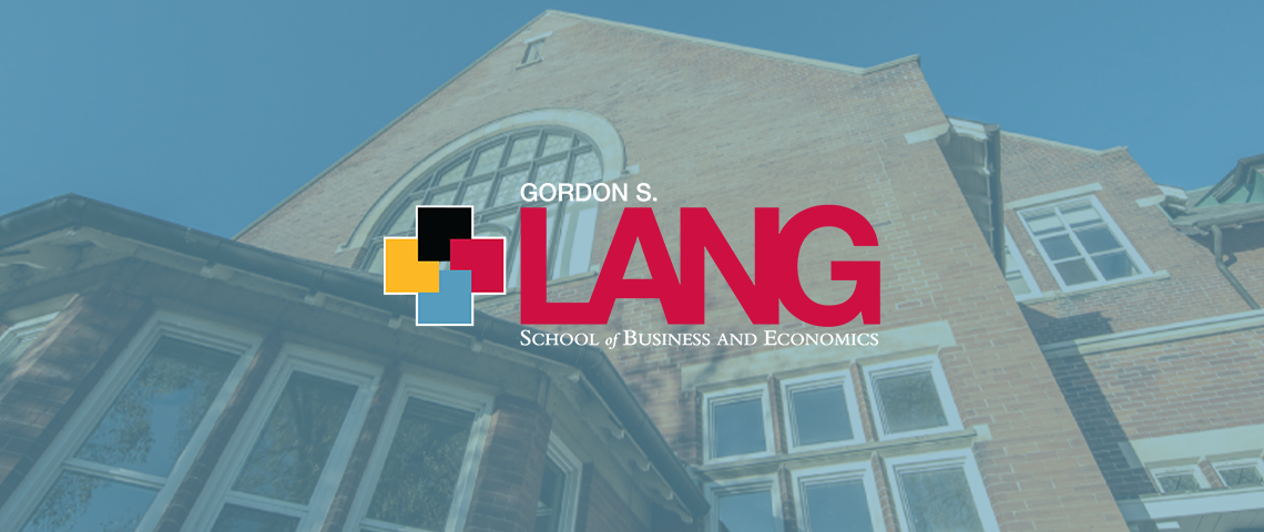 photo of the Lang School logo