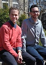 Prof. Sean Lyons and PhD Candidate Josh LeBlanc
