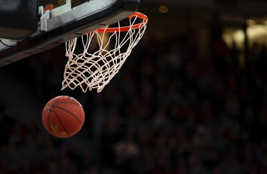 photo of basketball net