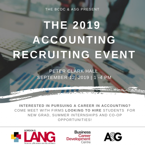 Upcoming Events | Gordon S  Lang School of Business and