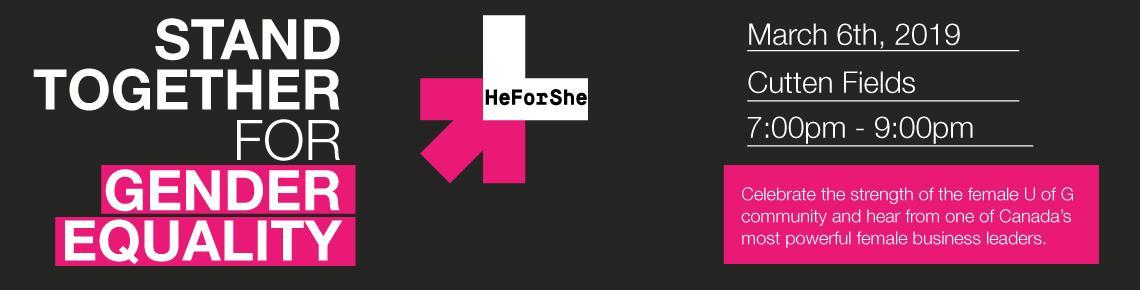 Stand Together for Gender Equality
