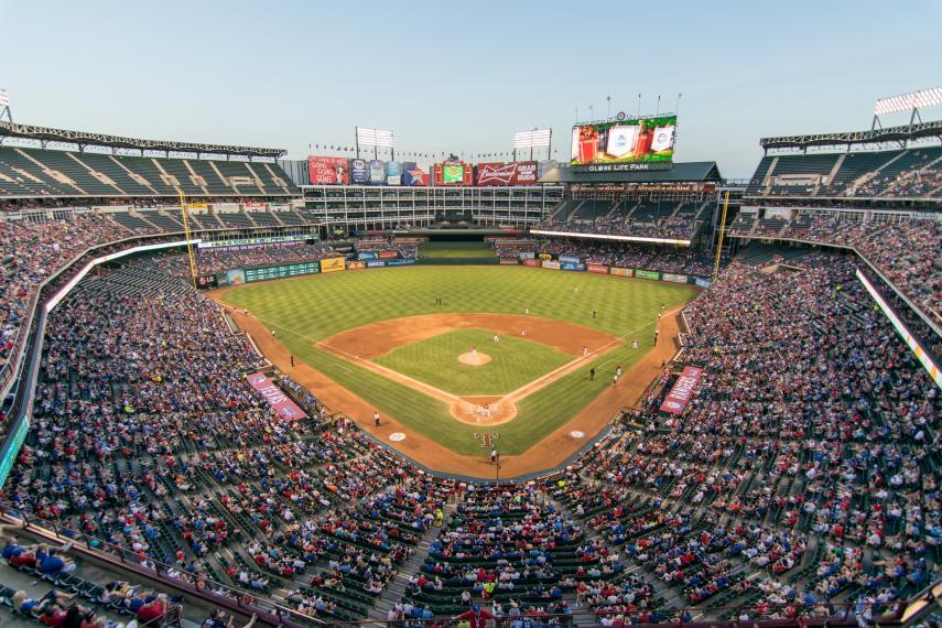 photo of crowded baseball stadium