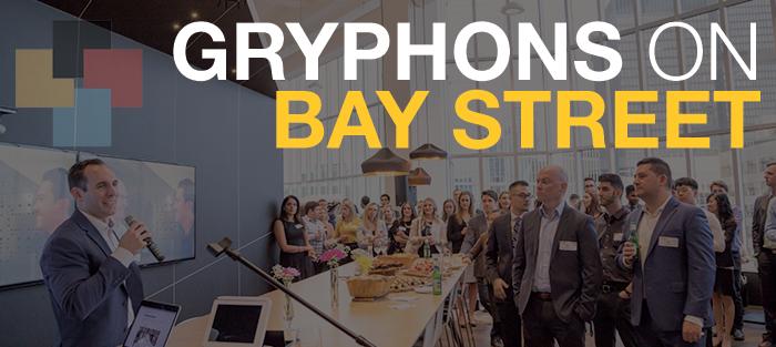 Gryphons on Bay Street