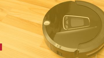 photo of a roomba
