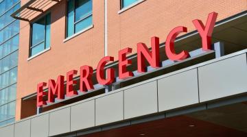 photo of emergency room