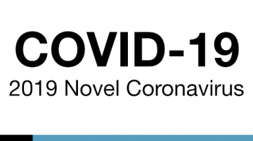 text reads COVID-19 updates