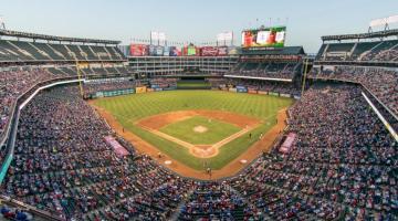 photo of crowded baseball stadium