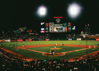AT&T Park in San Fransisco, home of the Giants