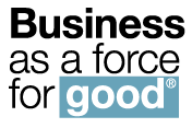 business as a force for good logo