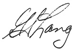 gordon s. lang signature