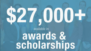 $27,000 available in awards and scholarships