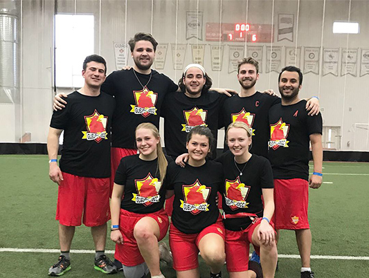 JDCC Guelph Flag Football team