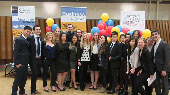 HTM students attend the annual job expo