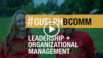 Watch our Leadership and Organizational Management video on YouTube