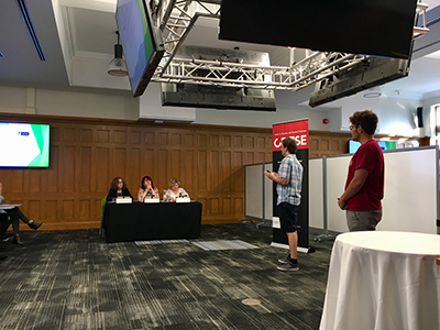 ManibusAI presenting to judges