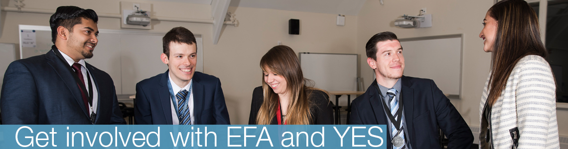 Get involved with EFA and  YES