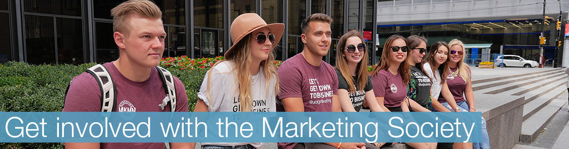 Get involved with the marketing society