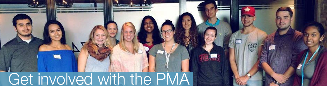 Get involved with the PMA