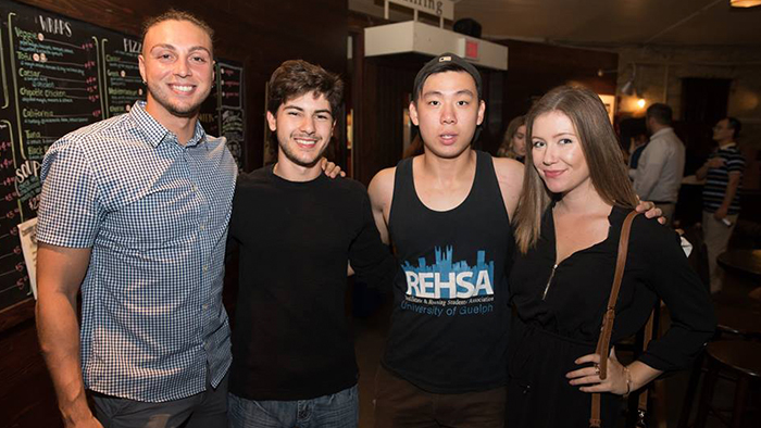 Real estate students attend the fall launch event