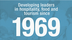 Developing leaders in hospitality, food and tourism since 1969