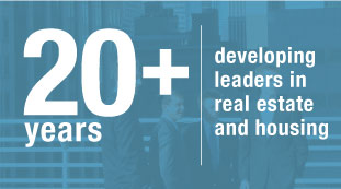 20 plus years of developing leaders in real estate and housing