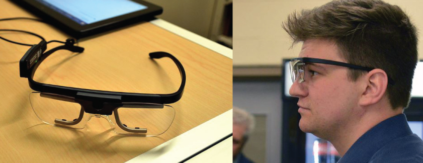 Eye-tracking equipment with tablet