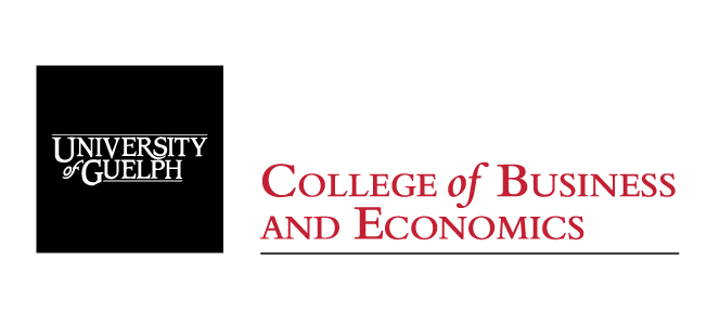 UofG College of Business and Economics logo